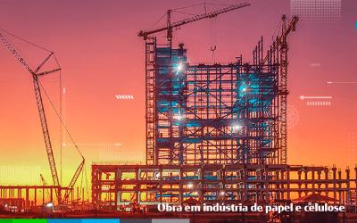 VIBES Engenharia executa serviços na maior indústria de celulose solúvel do mundo